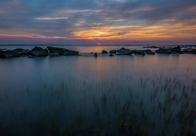 Photograph - Last Spot - Sullivan's Island, Sc by Donnie Whitaker