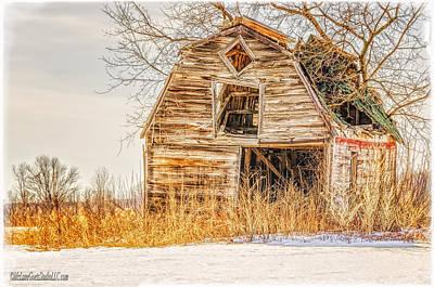 Photograph - Last Stand Barn by LeeAnn McLaneGoetz McLaneGoetzStudioLLCcom