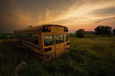 Final Photograph - Last Stop  by Aaron J Groen