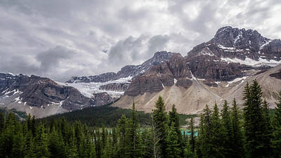Photograph - Last Stop On Icefields Parkway Banff Canada by Joan Carroll