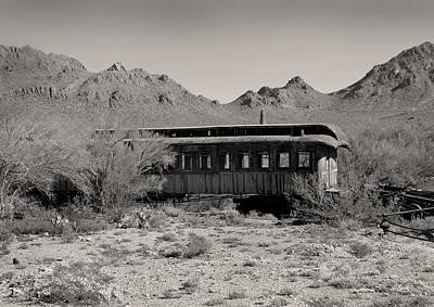 Last Stop Tucson Art Print by Gordon Beck