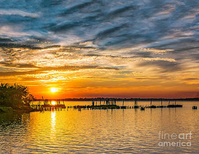 Photograph - Last Summer Sunset by Nick Zelinsky