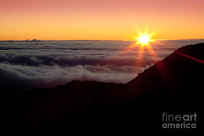 Last Sunrise Of 2010 Haleakala Print by Craig Ellenwood
