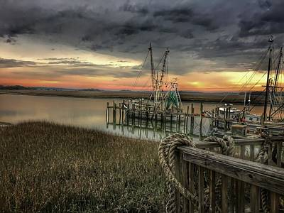 Photograph - Last Sunset by Bonnes Eyes Fine Art Photography