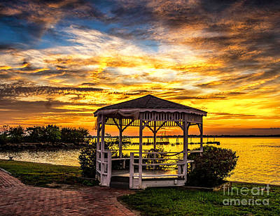 Photograph - Last Sunset Of Summer On The Delaware by Nick Zelinsky
