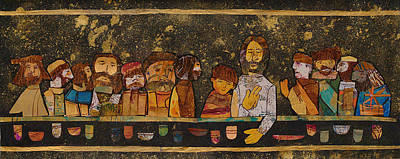 Carol Cole Painting - Last Supper 2 by Carol Cole