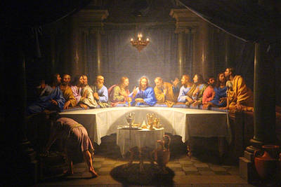 Photograph - Last Supper Meeting by Munir Alawi