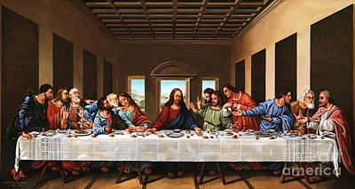 Last Supper Art Print by Michael Nowak