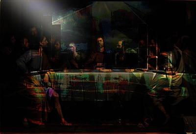Last Supper...after Philippe De Champaigne Original by Paul Sutcliffe