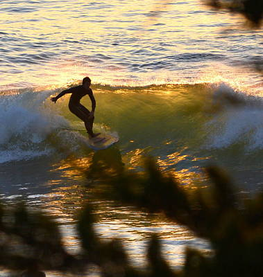 Photograph - Last Surf Of The Evening by Dean Ferreira