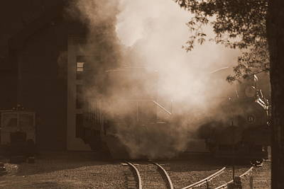 Last Train Goin' Art Print