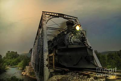 Last Train Into Chama Print by Robert Frederick