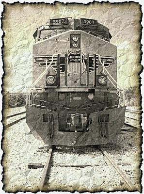 Last Train Art Print