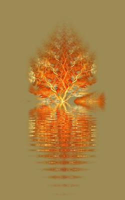 Digital Art - Last Tree by Richard Ortolano