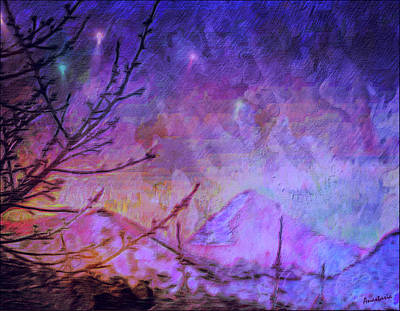 Painting - Last Twinkling Before Dawn by Anastasia Savage Ealy