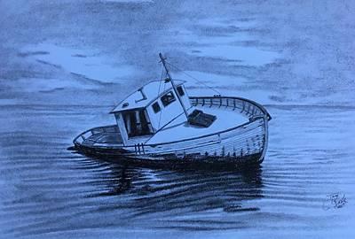 Drawing - Last Voyage  by Tony Clark