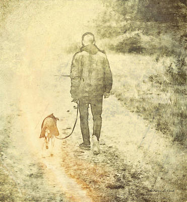 Last Walk Art Print by Bellesouth Studio