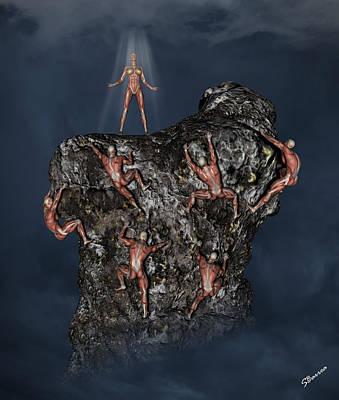 Digital Art - Last Woman Standing by Solomon Barroa