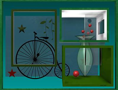 Surreal Digital Art - Last Years In Green by Alberto  RuiZ
