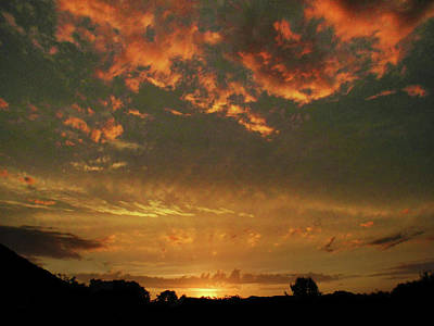 Photograph - Lasting Sunset by Mark Blauhoefer