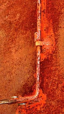 Photograph - Latch 4 by Jerry Sodorff