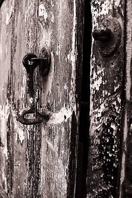 Photograph - Latch And Hook by Stewart Scott