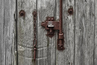 Photograph - Latch Loose by Stewart Scott