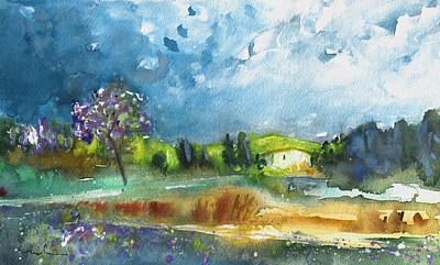 Painting - Late Afternoon 63 by Miki De Goodaboom