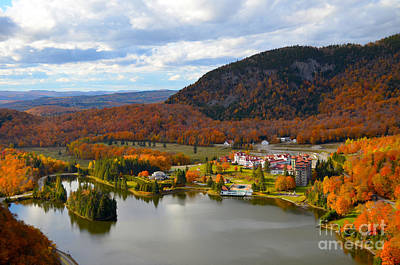 Abenaki Wall Art - Photograph - Late Afternoon At Dixville Notch by Daniel Day