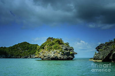 Photograph - late afternoon at Moo Koh Angthong by Michelle Meenawong