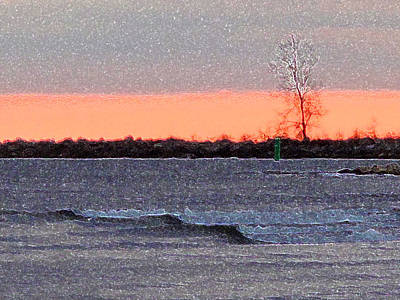 Late Afternoon By The Lake 2 Art Print by Lyle Crump