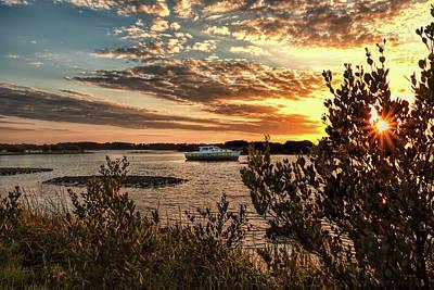 Keys Photograph - Late Afternoon In Cedar Key by John M Bailey