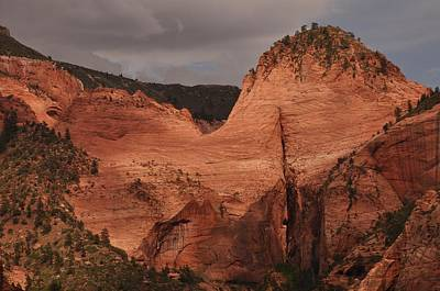 Photograph - Late Afternoon In Kolob Canyon Of Zion National Park by Frank Madia