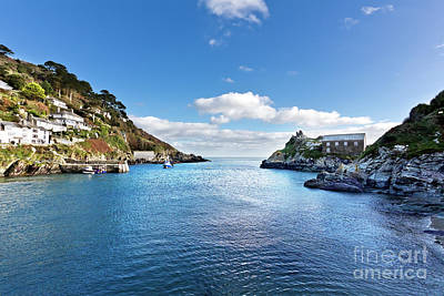 Photograph - Late Afternoon In Polperro by Terri Waters