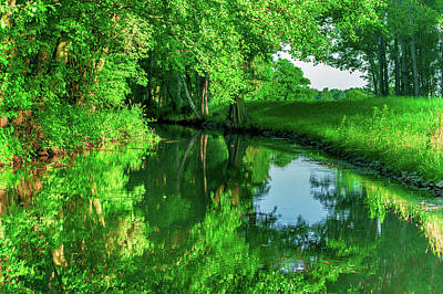 Photograph - Late Afternoon In The Spreewald by Sun Travels