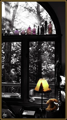 Photograph - Late Afternoon Light Across Arch Window by Wayne King