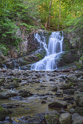 Photograph - Late Afternoon Light At Indian Brook Falls by Angelo Marcialis