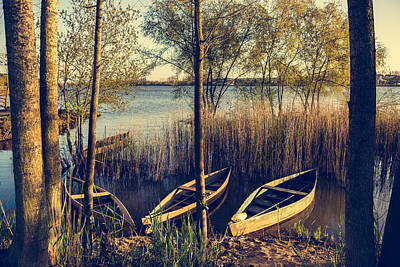 Late Afternoon On The Lake I Art Print