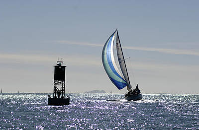 Photograph - Late Afternoon Sail by David Shuler