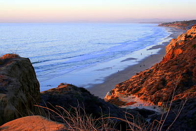 Photograph - Late Afternoon Vista At Torrey Pines In California by Laurel Talabere