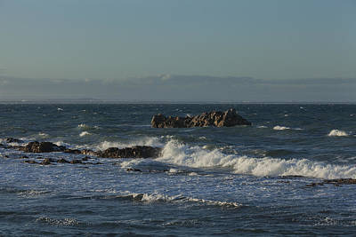 Photograph - Late Afternoon Waves by David Watkins