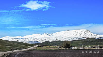 Photograph - Late April Snow by Robert Bales