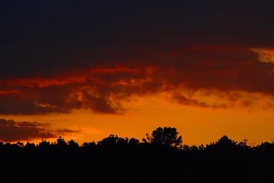 Photograph - Late August Sunset by Kathryn Meyer