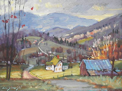 Painting - Late Autumn by Len Stomski