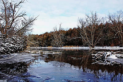 Photograph - Late Autumn On The River by Debbie Oppermann