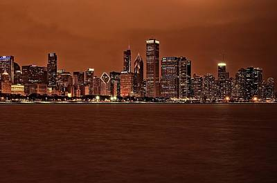 Photograph - Late Chicago by Miguel Winterpacht