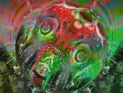 Blow Fish Digital Art - Late Day Catch by Thomas Edward Green