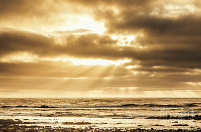 Beach Royalty-Free and Rights-Managed Images - Late day rays by Jorgo Photography - Wall Art Gallery