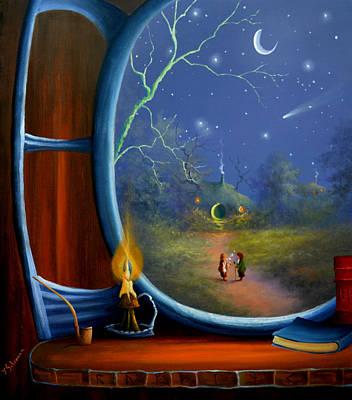 Painting - Late Evening Bag End by Joe Gilronan