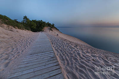 Late Evening In Summer At The Dunes Art Print